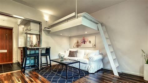 studio appartments in small studio apartments with loft bedrooms smart designs