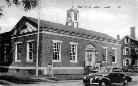 Rumford Post Office by Postcards From Maine
