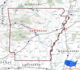 Arkansas State Map by Arkansas Maps
