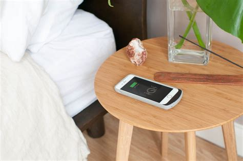 wireless charging table furniqi s stylish furniture will wirelessly charge your