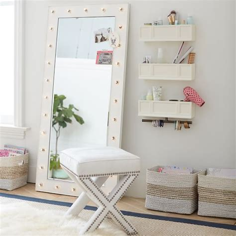 marquee bathrooms marquee light mirrors pbteen