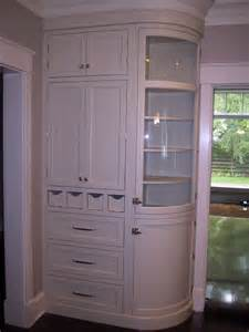 Custom Made Glass Cabinets Handmade Curved Glass Cabinet By Woodworking Unlimited Inc