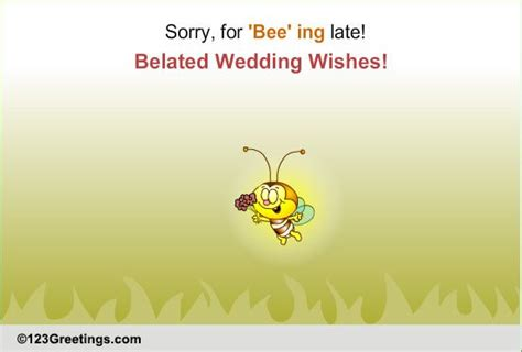 Wedding Congratulations Belated by Belated Wedding Wishes Free Belated Wishes Ecards