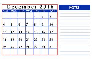 Cal Calendar December 2016 Calendar Template Templates Tools