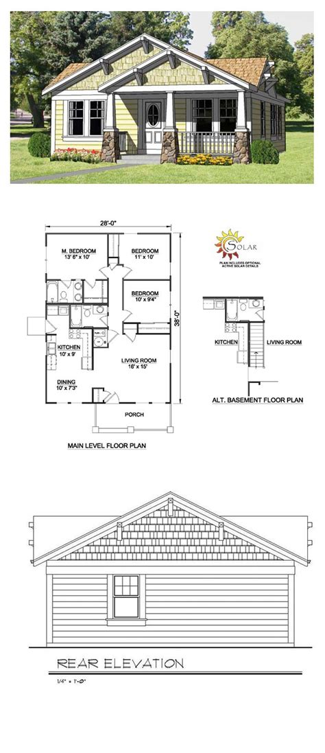cool house plans craftsman craftsman style cool house plan id chp 27990 total living area 1064 sq ft 3 bedrooms 2
