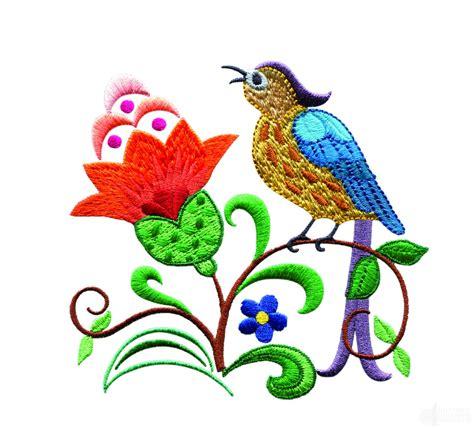 A Birds Paradise Jf302 Embroidery Design Bird Designs For