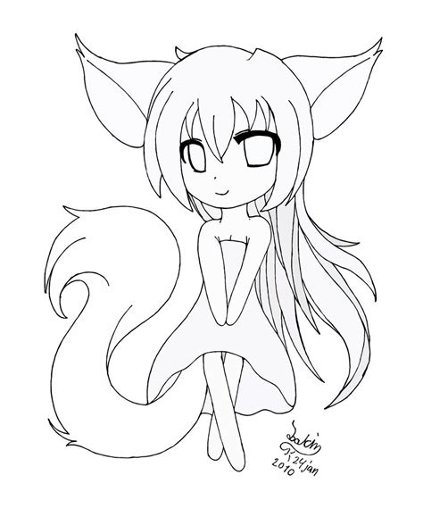 anime girl chibi coloring pages pretty cute anime girls coloring pages for kids
