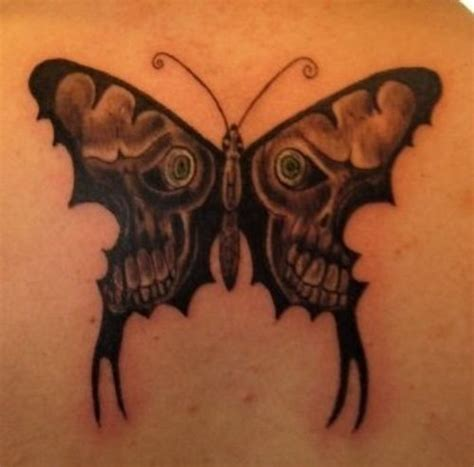 tattoo butterfly skull butterfly tattoos and designs page 257