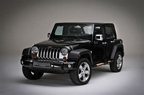 jeep wrangler models list jeep shows wrangler nautic concepts in paris autoblog