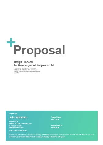 proposal design free download proposal automation software proposal quoting software