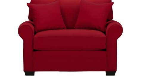bellingham cardinal red chair oversized