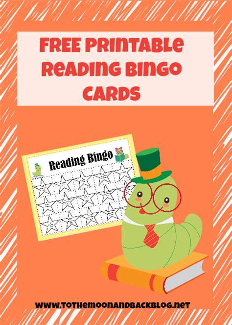 reading bingo cards  homeschool deals