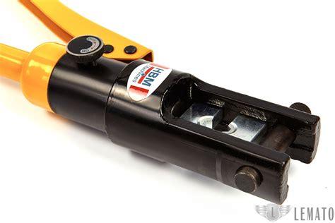 Kabel Skun Sc 300 16 300mm hbm 12 ton hydraulische krimptang 16 300 mm2 lemato