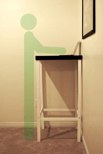 24 Best Images About Standing Desk On Pinterest Office Diy Standing Desk Ikea
