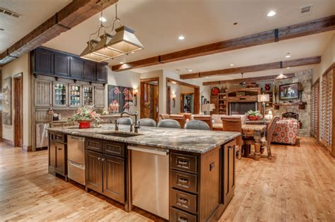 Rustic Chic Kitchen by Rustic Chic Remodel Rustic Kitchen Dallas By