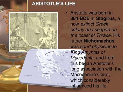 aristotle biography sparknotes aristotle