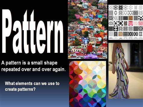 pattern is a principle of art that is created 17 best images about theorie elements of art on pinterest