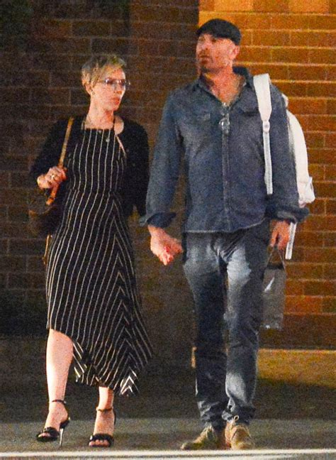 Denim Crimes Johansson by Johansson Steps Out Holding With Lawyer
