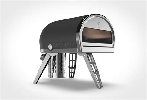 roccbox portable oven cooks a pizza in 90 seconds roccbox oven lumberjac