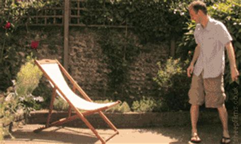 Folding Chair Gif by Giphy Gif