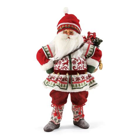 image gallery santa figurines