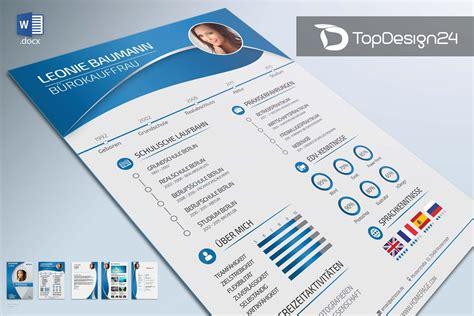 Design Vorlage Word Bewerbung Dewerbung Design Topdesign24 Bewerbungsvorlage