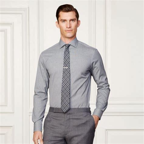 mens light gray dress china made to measure slim fit sleeve light grey