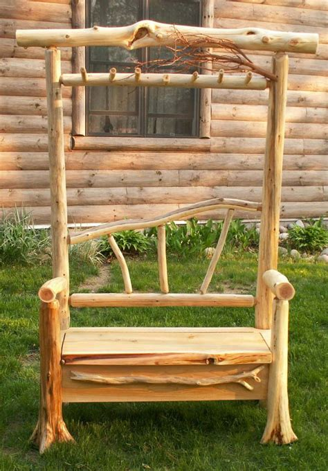 log bench designs 17 best ideas about log benches on pinterest rustic