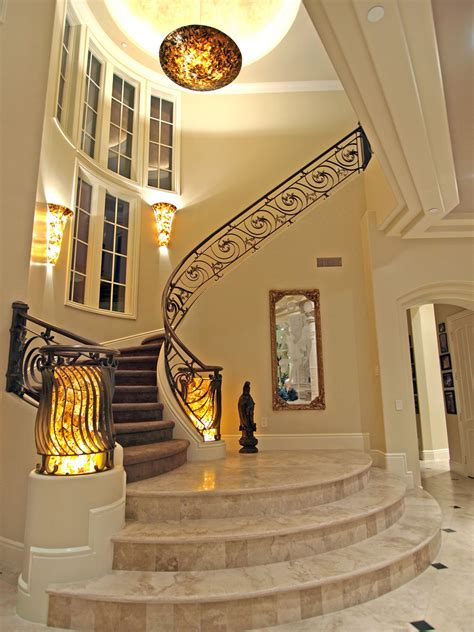 Luxury Home Stairs Design The Lakes Northshore Estates 8741 Newport Isle Court Sta Flickr