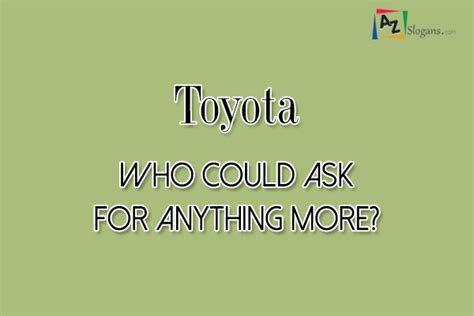 toyota slogan 2016 car slogans