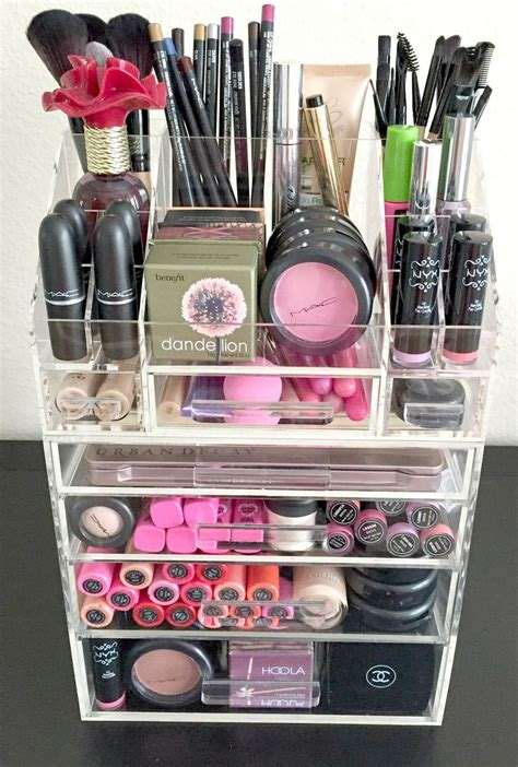 Acrylic Box Palette Acrylic Makeup best 25 acrylic makeup organizers ideas on