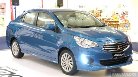 mitsubishi attrage specification mitsubishi attrage full malaysian specs and prices image