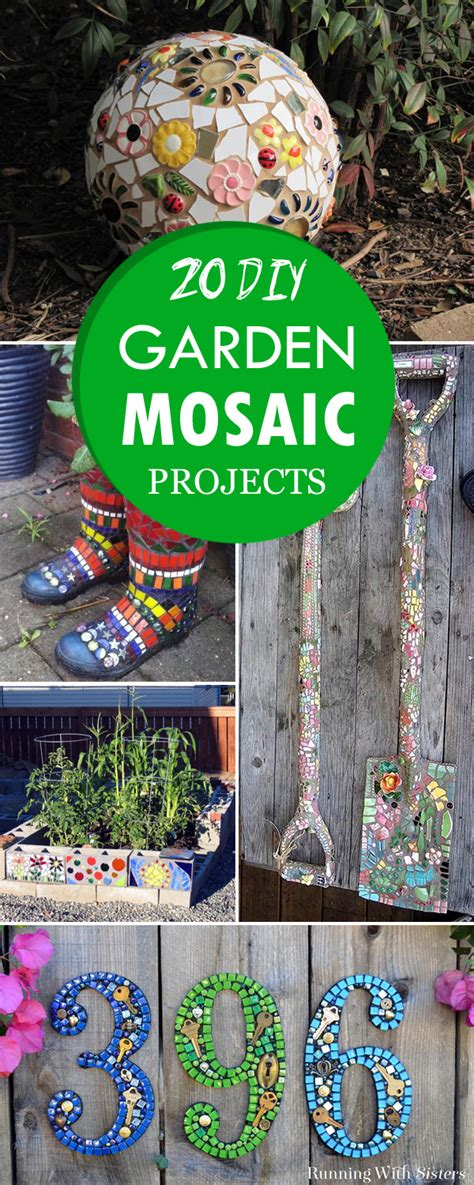 20 Impossibly Creative Diy Outdoor Decorations Diy Crafts 20 Creative Diy Garden Mosaic Projects