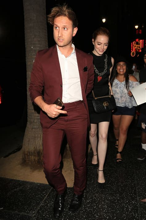 emma stone who dated who moving on emma stone spotted getting close to a mystery