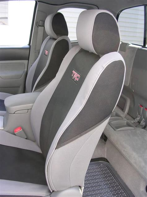 Toyota Tacoma Trd Seat Covers Fw Sport Seat Covers Toyota Tacoma Gray Black W