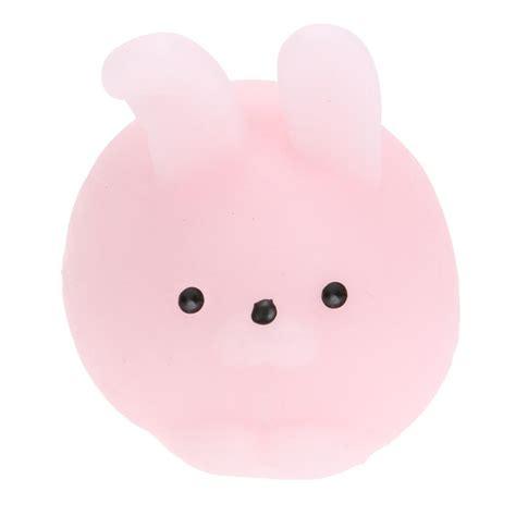 Bunny Set 2pcs 2pcs squishy pink bunny squeezers moonquartzcrystals