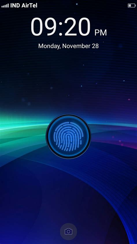 fingerprint lock screen apk for android smartphones and tablets working app