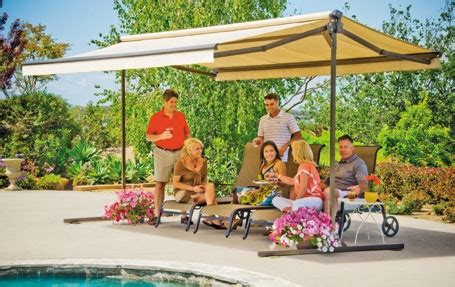 Sunsetter Oasis Freestanding Awning by Sunsetter Oasis 194 174 Freestanding Awning