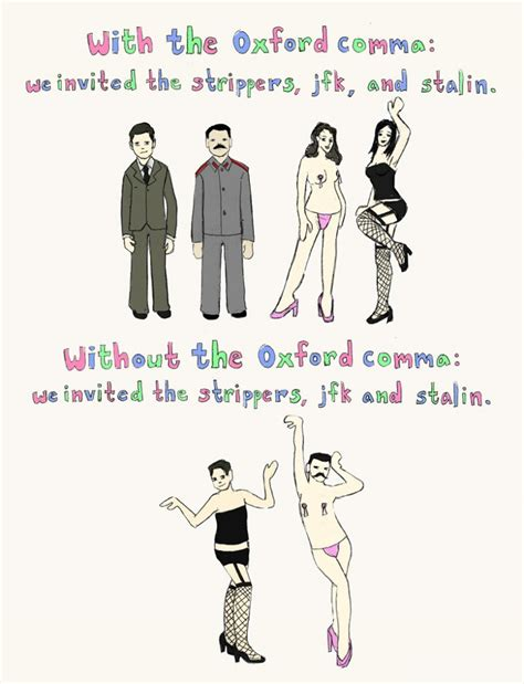 Oxford Comma Meme - oxford comma humor