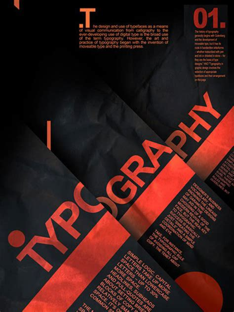 design inspiration poster typography a collection of 40 elegant typographic posters