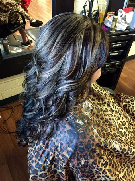 how to hightlight dark brown hair yourself dark brown with blonde highlights hair by heather