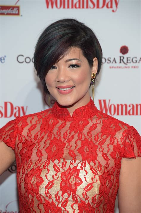 tessanne chin 2015 haircut tessanne chin photos photos woman s day red dress awards