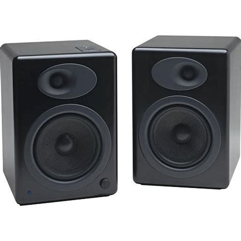 audioengine a5 bookshelf speakers black a5b b h photo
