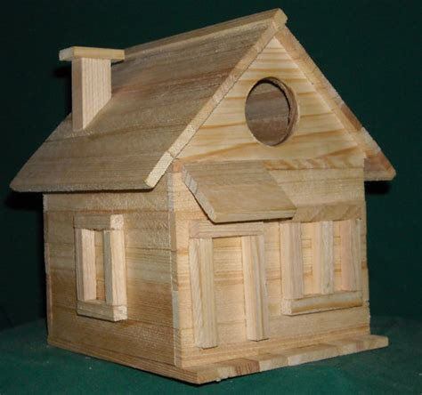 cottage bird house kit