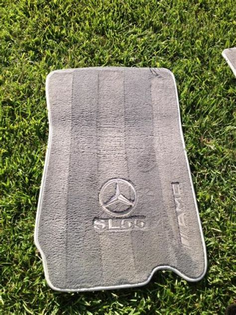 Custom Car Mats With Embroidered Customized by Fs Custom Ash Gray Sl55 Floor Mats Embroidered Symbol