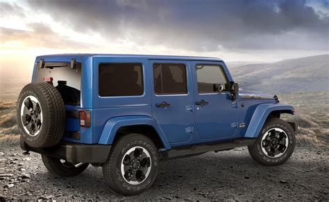Jeep Wrangler Editions Jeep Wrangler Polar Edition Arrives Just In Time For Winter