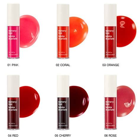 Jual The Shop Watery Tint the shop watery tint korean cosmetic shop