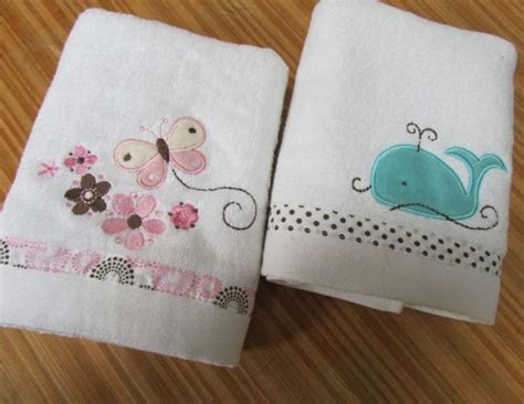 Embroidered Towel Bath Towel embroidered white bath towels
