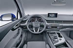 2015 Audi Q7 Interior Audi Q7 2015 Review And Price
