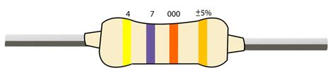 a resistor has the following bands in the order of black and gold the resistance is resistor color codes finding resistor values
